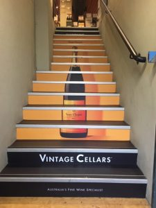 Vintage Cellars Stairs
