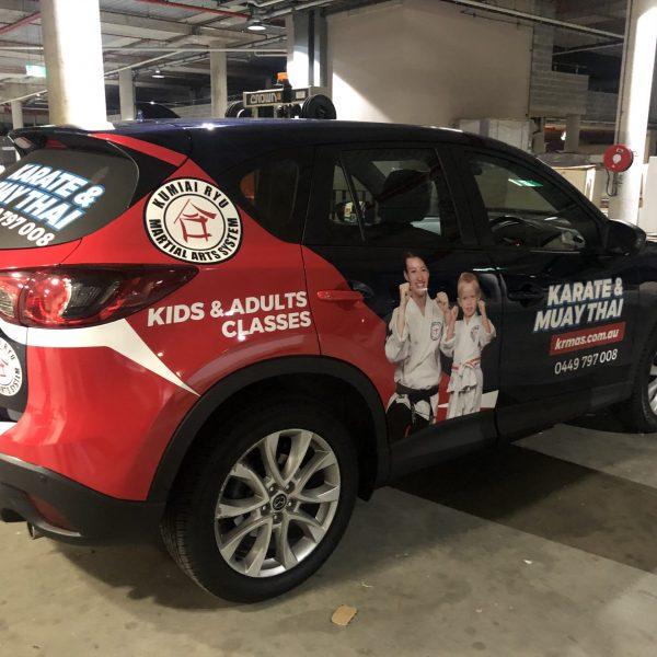 KRMAS Car Wrap
